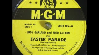 """Judy Garland & Fred Astaire """"Easter Parade"""" Irving Berlin song"""