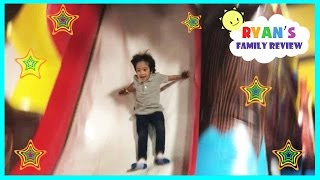 Indoor playground family fun play area for kids bounce house and arcade games Ryan