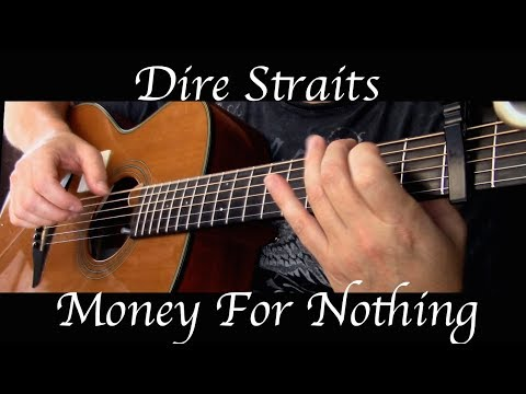 Dire Straits - Money For Nothing - Fingerstyle Guitar