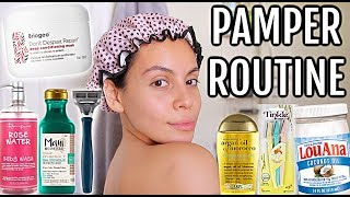 my pamper routine! (self care day)