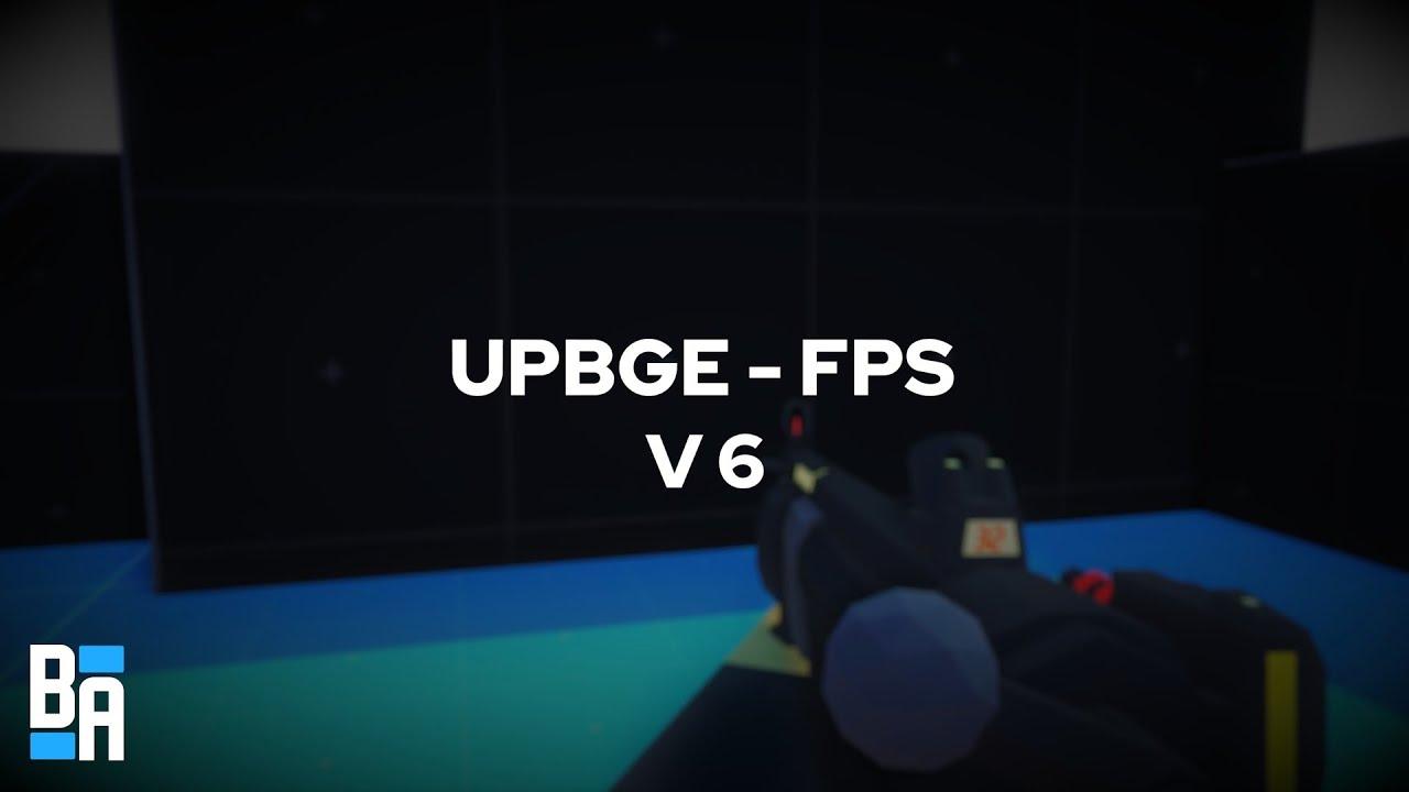 UPBGE - FPS Shooter 6