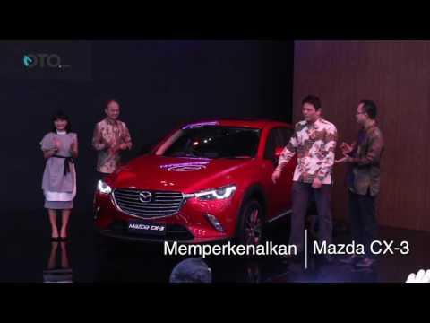 Mazda Resmi Memperkenalkan CX-3 di GIIAS 2016 | Oto.com