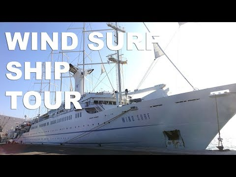 Windstar Cruises Ship Tour of Wind Surf