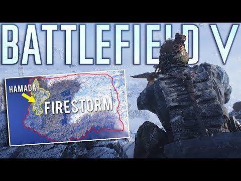 Battlefield 5 Firestorm is MASSIVE!