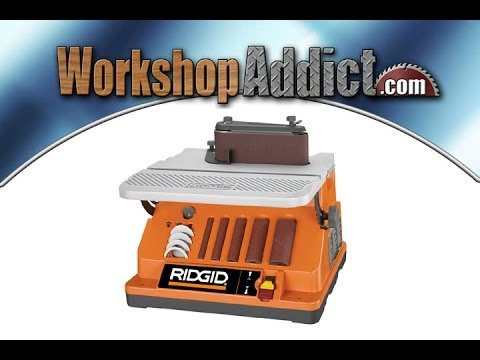 Ridgid Oscillating Edge Belt/Spindle Sander Review