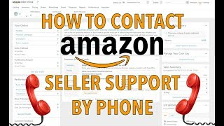 How To Contact Amazon Seller Support By Phone