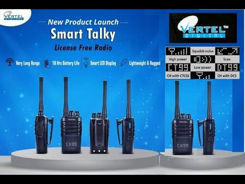 IP 65 License Free Walkie Talkie