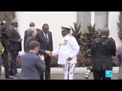 Theresa May signs security pact with Kenya