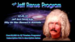 Jeff And David Icke - Why He Was Banned In Australia