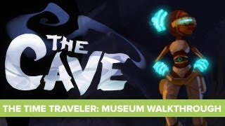 preview picture of video 'The Cave Time Traveler Walkthrough - Time Traveler Quest - The Museum'