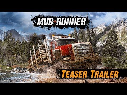 Spintires: MudRunner American Wilds - Teaser Trailer thumbnail