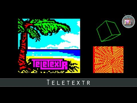 Teletextr by Bitshifters, 2017 | BBC Micro Demo