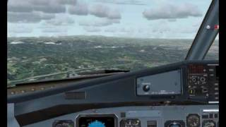 preview picture of video 'CTW107 TJSJ Approach in VATSIM'
