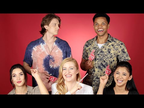 """The Cast Of """"Nancy Drew"""" Plays Who's Who"""