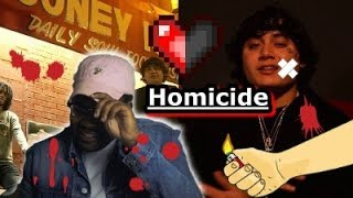 Shoreline Mafia - Homicide feat. Bandgang Lonnie Bands| Reaction Video!