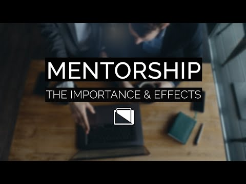 Mentorship - The Importance & Effects