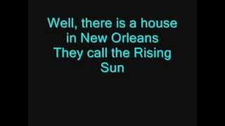 The Animals  House Of The Rising Sun LYRICS