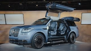 Lincoln's new Navigator concept was inspired by a yacht thumbnail