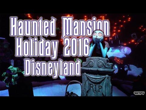 [4K] Haunted Mansion Holiday 2016 - Disneyland - POV complete Ride
