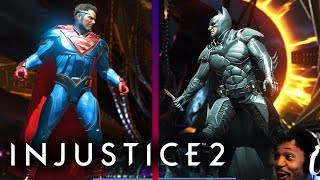 WHO SHOULD WE CHOOSE!? SUPERMAN OR BATMAN?! | Injustice 2 #12
