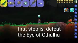Terraria tutorial: moving Corruption into a Crimson world