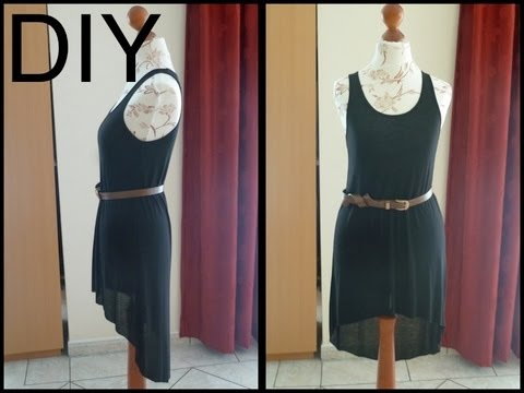 DIY - High Low Dress
