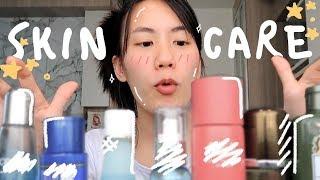 อยู่บ้านใช้ครีมอะไรบ้าง? Skincare Review 2019 | MayyR