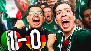 LA REACCIÓN MÁS VIRAL DEL GOL DE MÉXICO *Le ganamos a Alemania *Sentimental