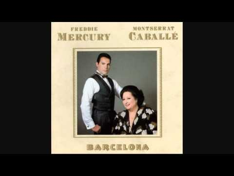 Freddie Mercury and Montserrat Caballe - The Golden Boy - Barcelona - LYRICS (1988) HQ