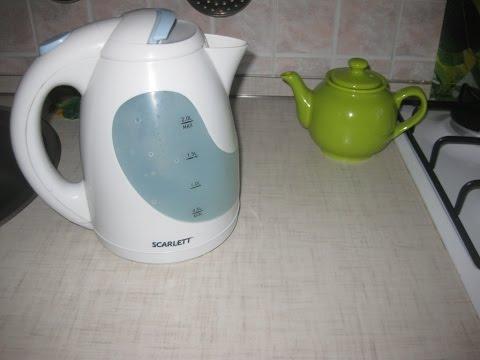 Проще простого почистить чайник