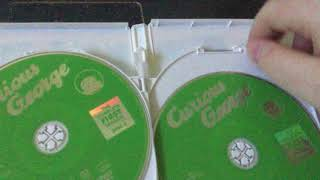 My Curious George DVD Movies and TV Show Collection