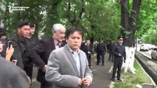 Kazakh Police Break Up Activists