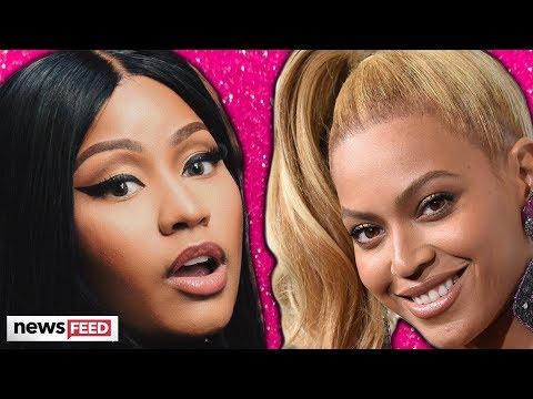 Nicki Minaj SQUASHES Beyoncé Feud Rumors & Teases Pregnancy!