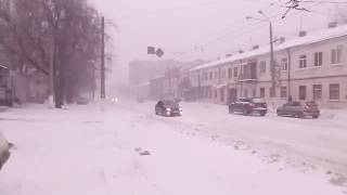 Так чистят дороги в Одессе 2017