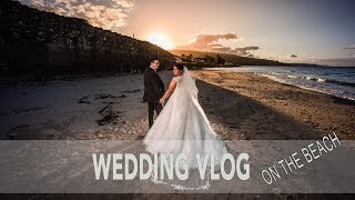 Wedding Shoot On The Beach Using Off Camera Flash And Natural Light