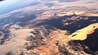 Вид Земли с борта МКС+звуки космоса