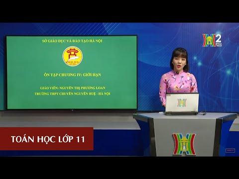 MÔN TOÁN - LỚP 11 | ÔN TẬP CHƯƠNG IV | 15H45 NGÀY 16.04.2020 | HANOITV