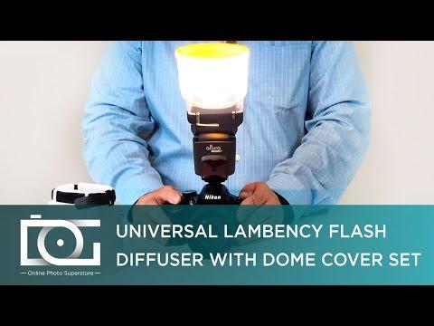 FR Universel Diffuseur de Flash Lambency CLOUD + 3 Dômes Compatible tous Flashs