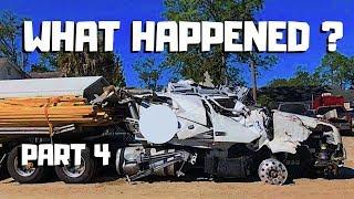  STORY Behind The WRECK  2019 Volvo VNL Semi Crash REBUILD Copart Project   PART 4  