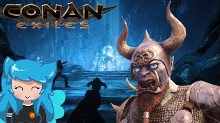 BLACK ICE WEAPONS FOUND! The Temple Of Frost + TOTEMS!   Conan Exiles   Episode 13