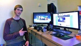 Ali-A's Gaming Setup & Room Tour (Epic Setup) thumbnail