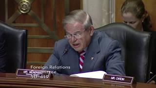 Menendez Questions National Catholic Prayer Breakfast Founder on LGBTQ Issues