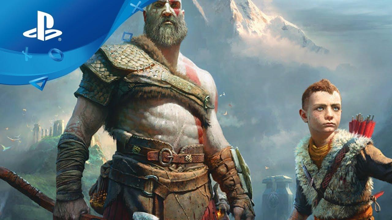 Kratos und Atreus stellen sich im neuen Kampfsystem von God of War den Gegnern gemeinsam