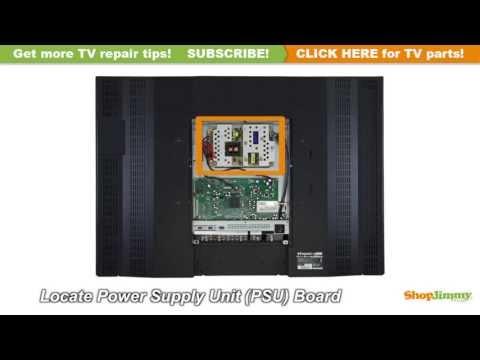 NO POWER TV REPAIR Panasonic N0AB5JK00001 Plasma TV Repair