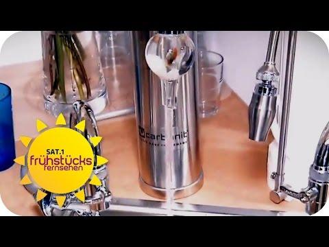 Wasser ENERGETISIEREN - Humbug oder sinnvoll? | SAT.1 Frühstücksfernsehen