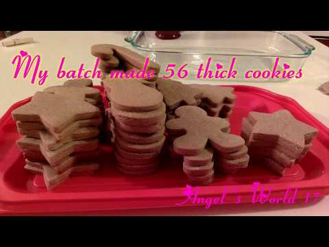 How to Make Gingerbread Cookies w/out molasses