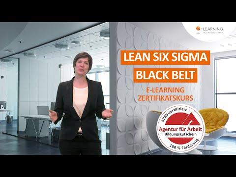 LEAN SIX SIGMA Black Belt   Geförderter Online-Kurs   E-Learning mit Bildungsgutschein