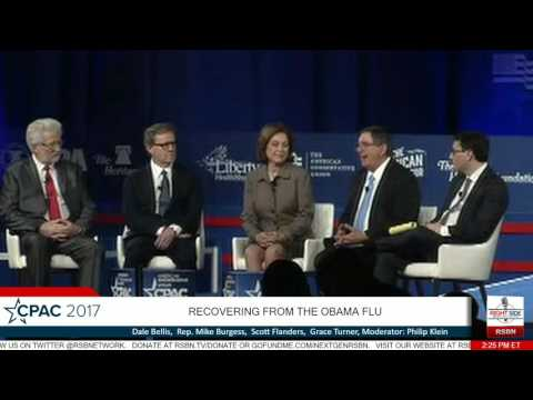 Recovering from the Obama Flu: Dale Bellis, Mike Burgess, Scott Flanders, Grace Turner- CPAC 2017