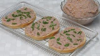 Без Мяса! Постный ПАШТЕТ на Бутерброды - просто объедение! Lenten bean pate.
