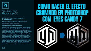 Tutorial Photoshop   Efecto Cromado Para Logos Y Textos